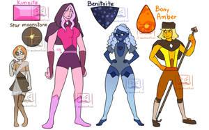 Star Moonstone Squad by machiavellical