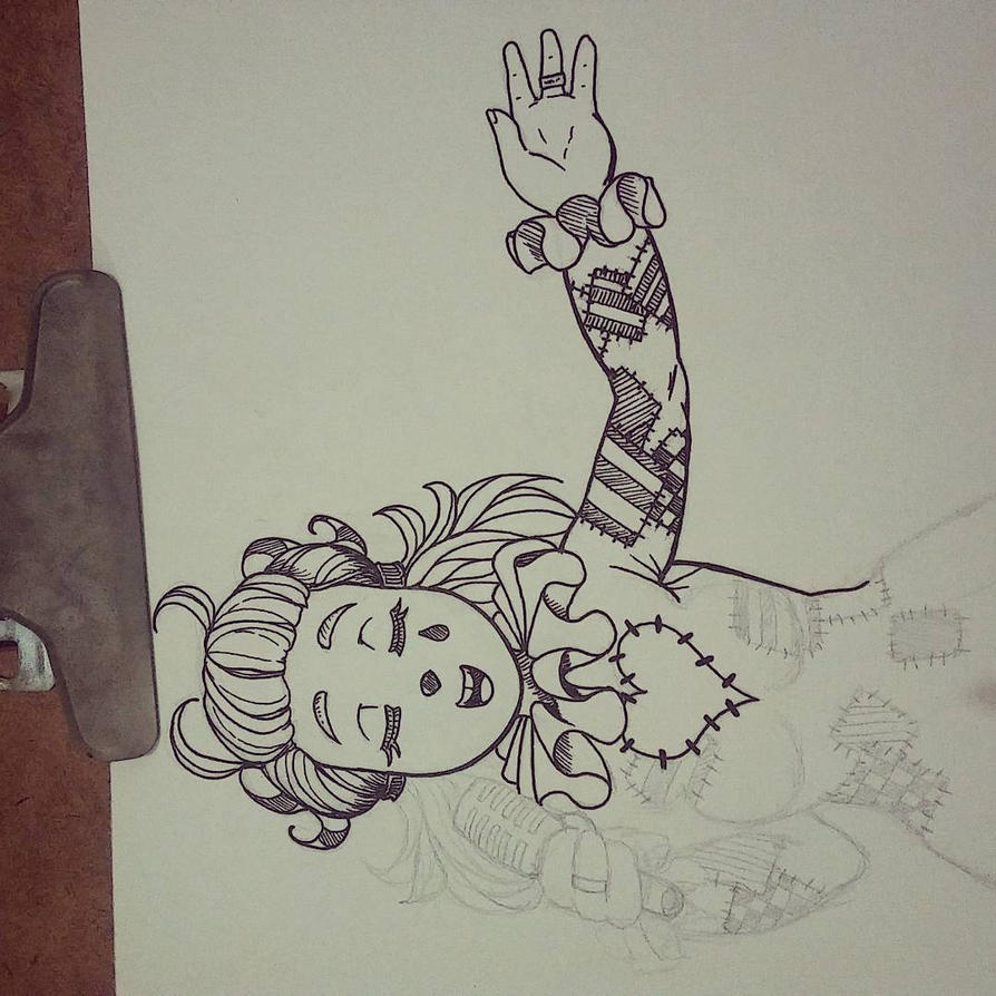WIP Traditional Art Test by THesla