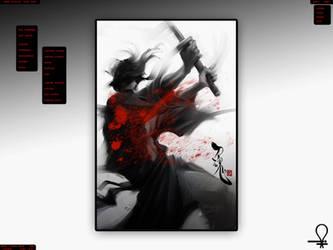 Crimson Samurai by JBboy