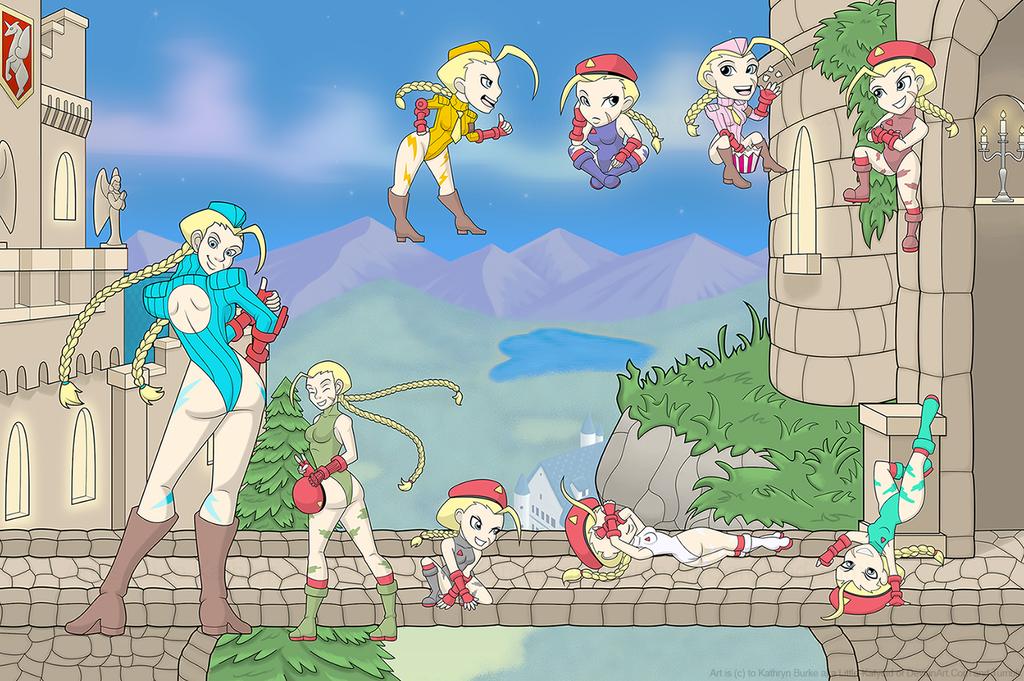 Cammy Arcade Gamepad Comission by Little-Katydid