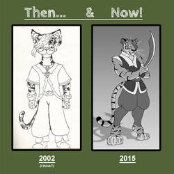 Then and Now...