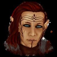 Inquisitor Lavellan by zelgreywords