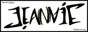 Ambigram :: JEANNIE