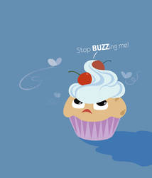 Mad cupcake