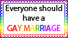 Gay Marriage by Seitar