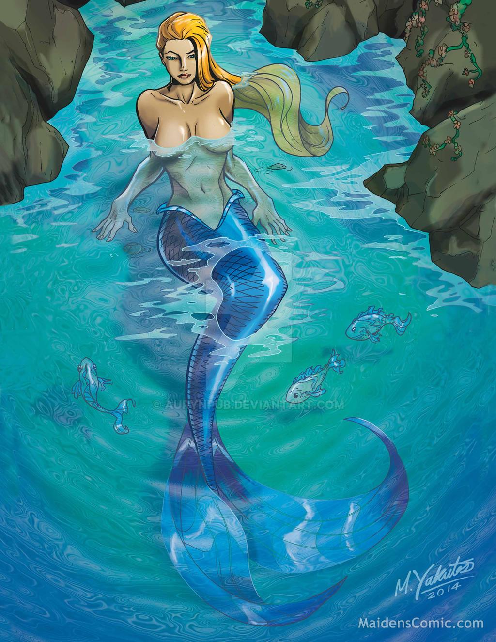Mermaid Cove by AurynPub