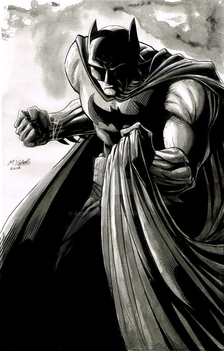Batman Pin Up by AurynPub