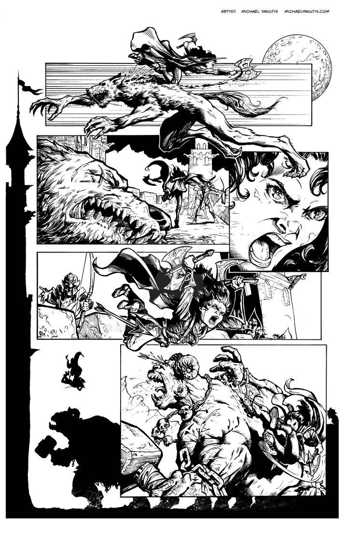 Jane pg 1 inks by AurynPub