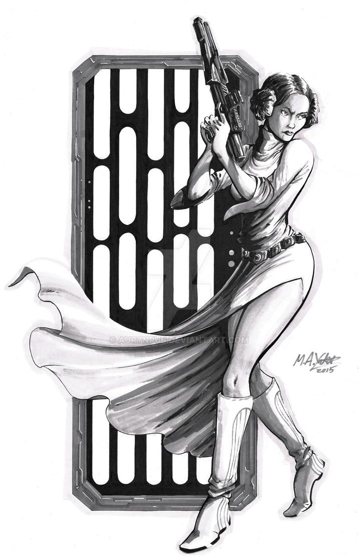 Princess Leia by Michael Yakutis - FOR SALE by AurynPub