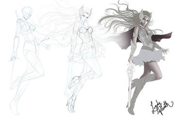 WIP - She-ra by Ladyastaroth15