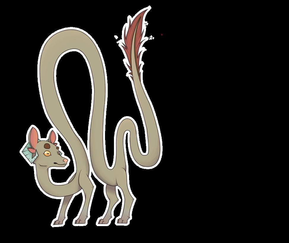 Goat Monster/dragon by Lids-Stuff