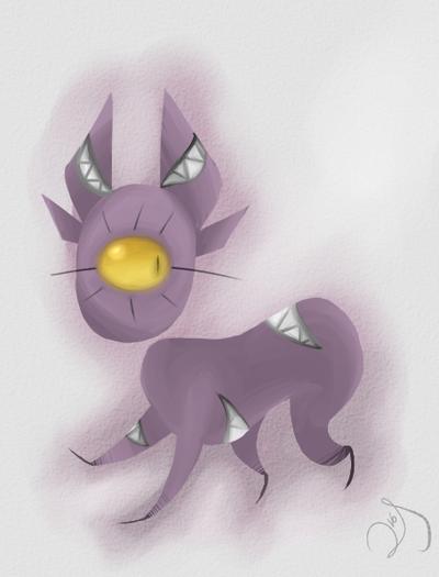 Monster Cat by Lids-Stuff