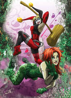 harley and ivy by tuljin