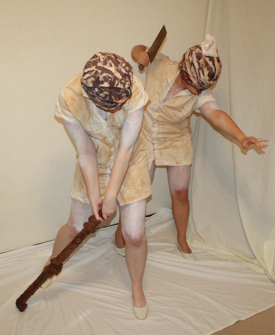 Silent hill bubblehead nurses 2 by MajesticStock