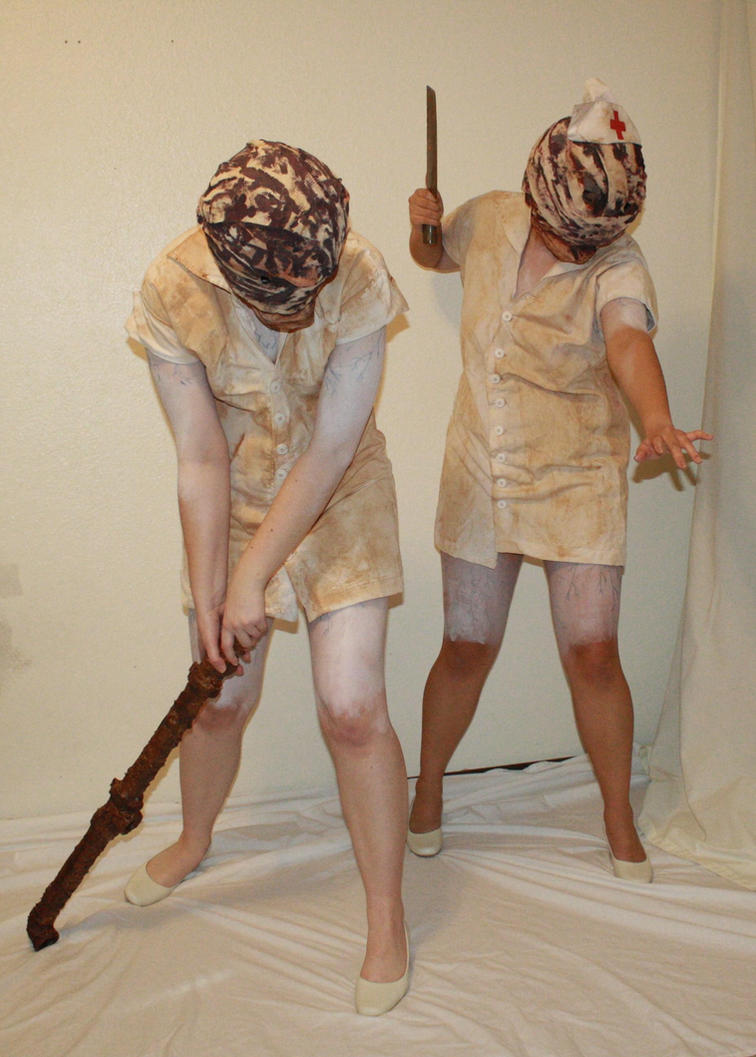 Silent hill bubblehead nurses 3 by MajesticStock