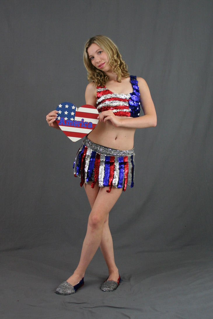 All American Girl 7 by MajesticStock