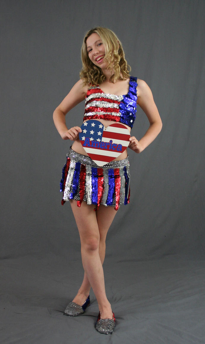 All American Girl 8 by MajesticStock