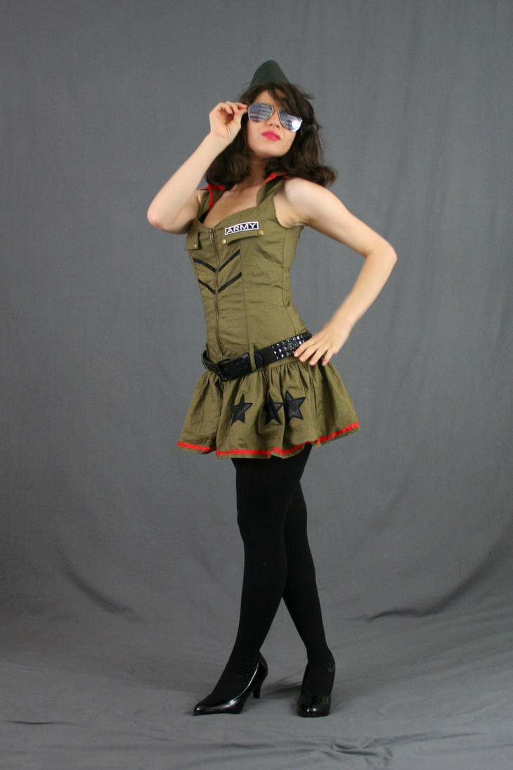 Army Pinup 18 by MajesticStock