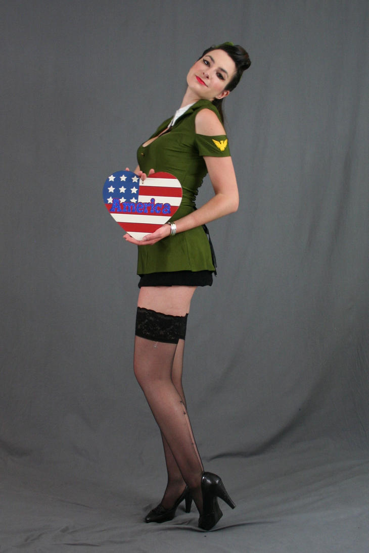 USO pinup 21 by MajesticStock