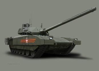 New Russian MBT: T-14 Armata by Dreamscripter