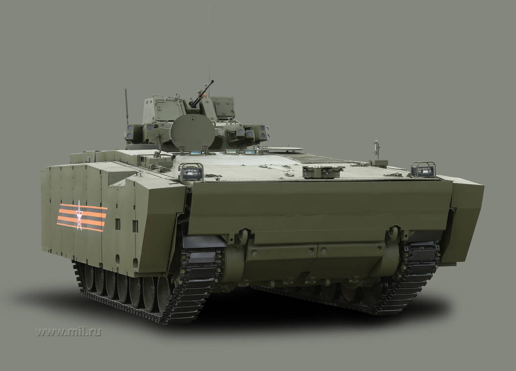 New Russian Tracked APC: Kurganets-25 by Dreamscripter on DeviantArt