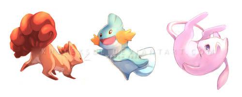 Pokemon I by kheleksul