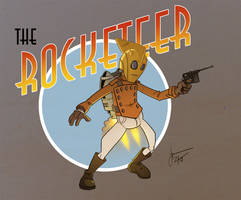 THE ROCKETEER by melies