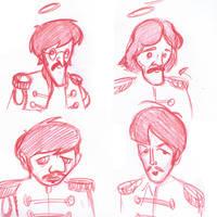 Beatles Sketch by melies