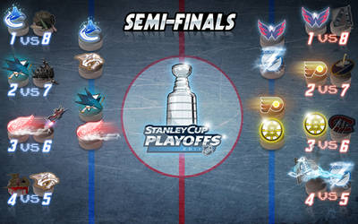 NHL STANLEYCUP SEMI-FINALS '11