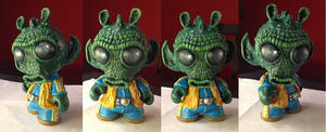 Munny# 02  : GREEDO by melies