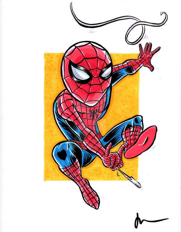 Spider-Man by melies