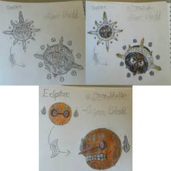 Solrock and Lunatone evolutions idea