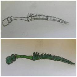 Green Spider leg Blade