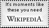 Wikipedia Moments by John-AM