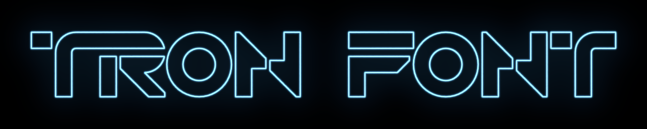 Tron Font by John-AM