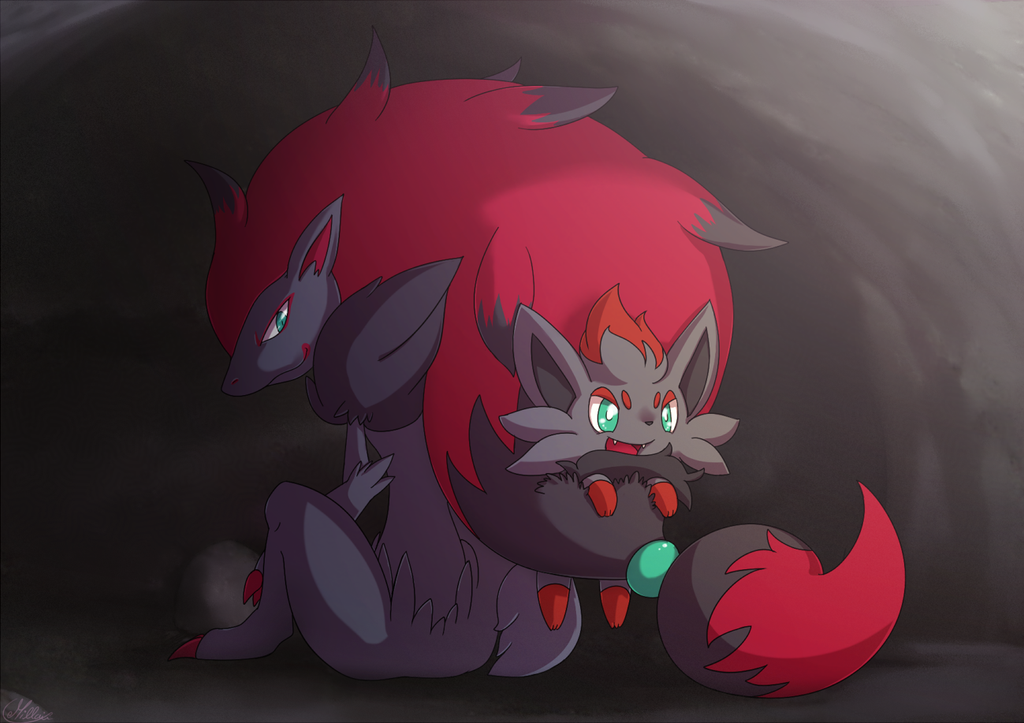 New Artwork for Zorua and Zoroark 5th Generation Pokemon - Pure ...