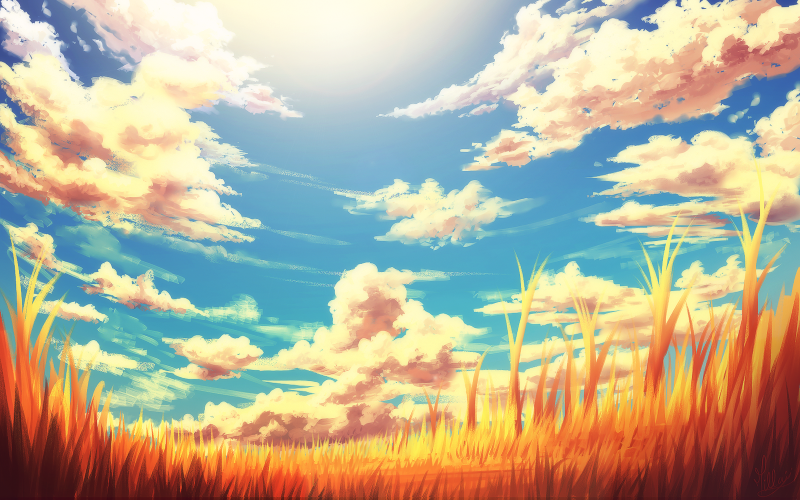 digital paintings scenery - photo #12