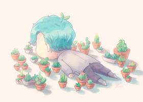 Cactuses by Umishaii