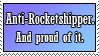 Anti-Rocketshipper Stamp by Krazys-Stamps