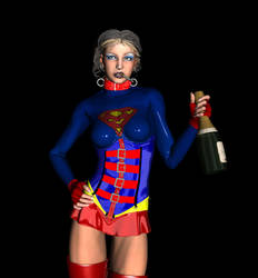 Supergirl - WIP by aesapgraphics