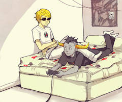 sick fires and videogames by 021