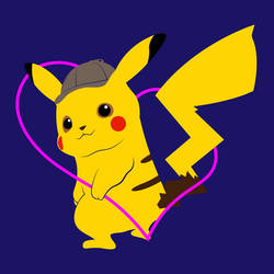 Detective Pikachu Icon by gokuss4046