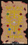 Pokemon Scroll Cross Stitch