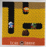Dig Dug Charity Square XStitch