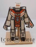 Transformer CrossStitch Robot2 by LordLibidan