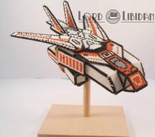 Transformer Cross Stitch Jet by LordLibidan