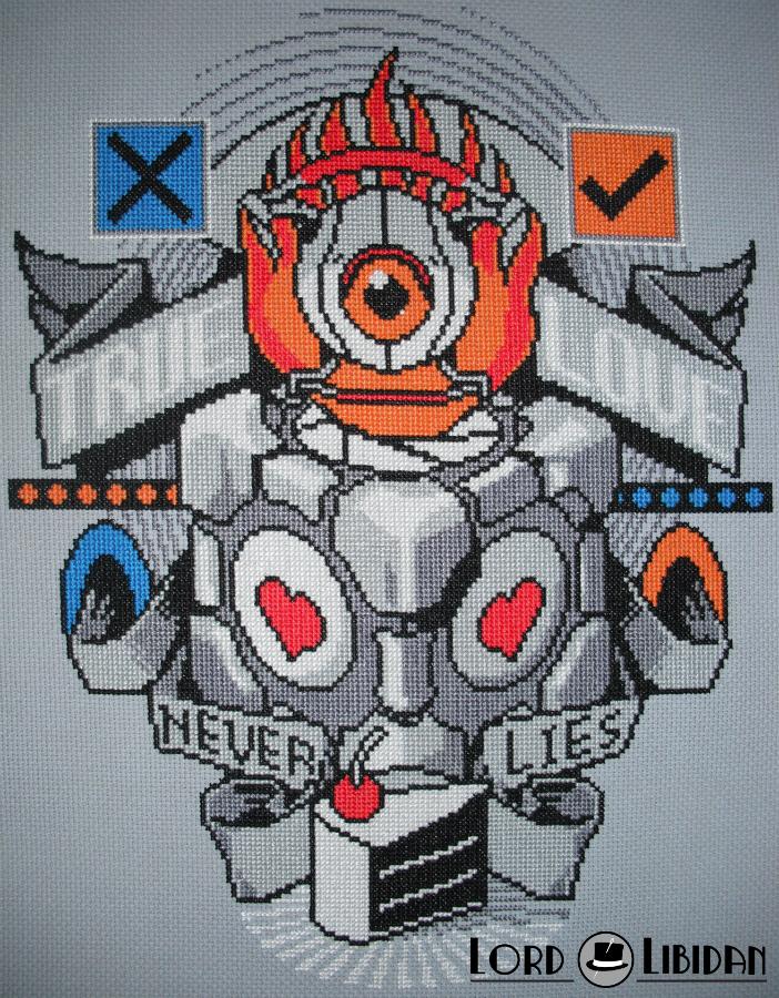 Portal Tattoo Cross Stitch by LordLibidan