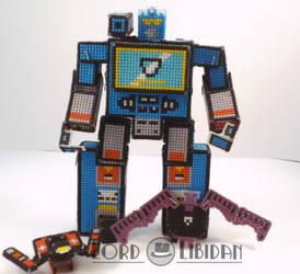 Transformer Cross Stitch Robot 3