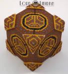 Skyrim Runed Lexicon Cross Stitch Cube