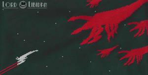 Mass Effect Poster Cross Stitch